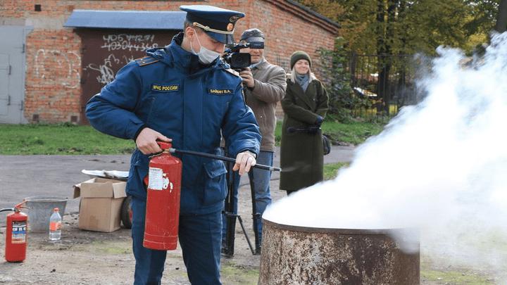 Все прошло по плану: Новомосковские школьники отметили День гражданской обороны МЧС