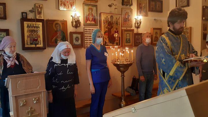 В Тульской областной клинической больнице прошёл молебен для медиков и пациентов