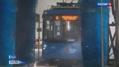 В Тульской области усилили работу по дезинфекции общественного транспорта и остановок