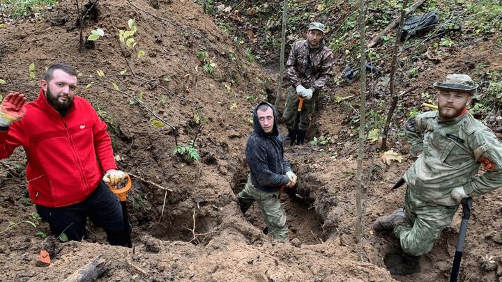 Эхо войны: Ясногорские поисковики нашли в Калужской области фрагменты самолета ИЛ-2