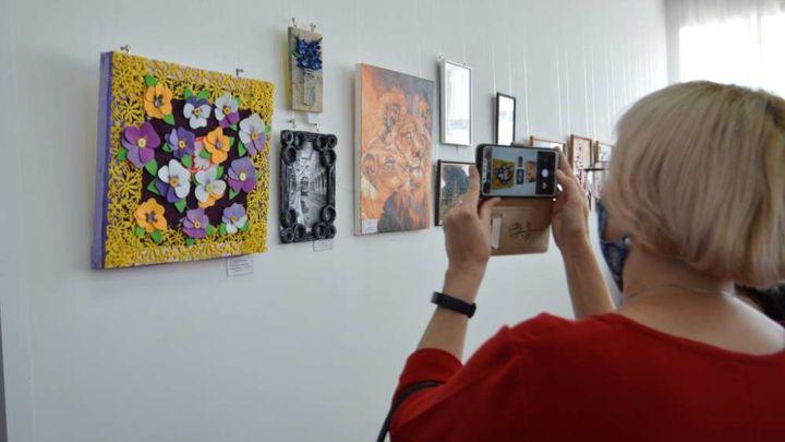 В Ефремове открылась выставка работ инвалидов «Преодоление»