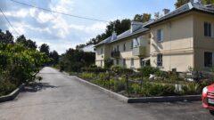 В Щёкинском районе завершают ремонт дворов