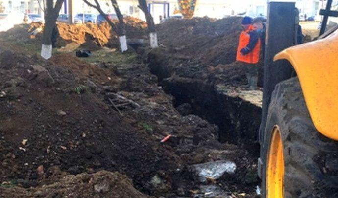 В Туле рабочий погиб в траншее из-за обрушения грунта