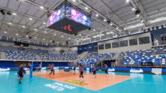 В Туле стартует полуфинальный турнир Кубка России по волейболу