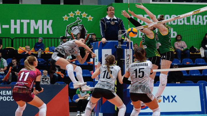 «Тулица» на тай-брейке вырвала победу у «Уралочки» в стартовом матче Суперлиги