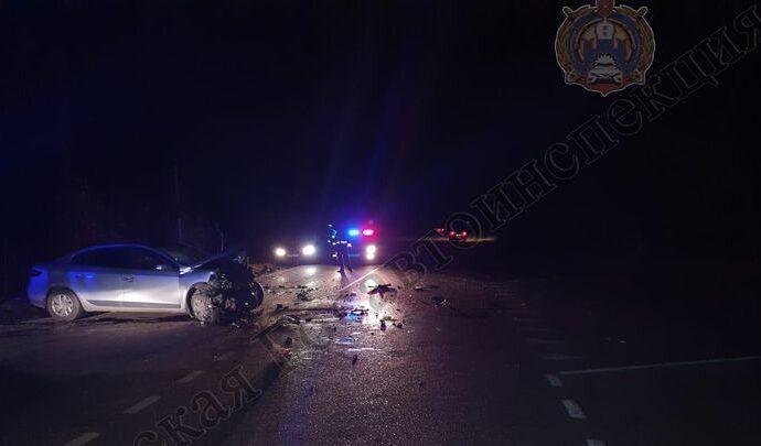 В ДТП на автодороге «Узловая – Богородицк» погибла женщина и пострадал ребенок