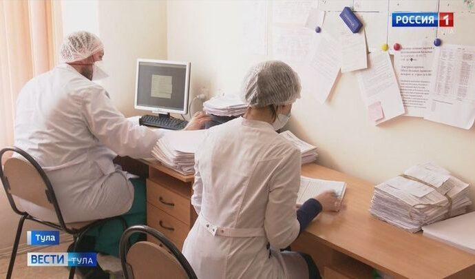 В Тульской области растет число заболевших коронавирусом